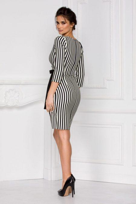 Impress Ριγέ Φόρεμα 6013