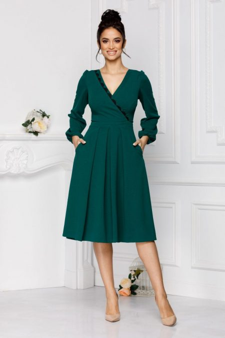 Moze Dorra Green Dress