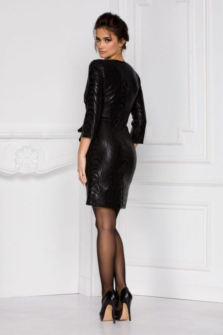 Lilly Μαύρο Φόρεμα 6016