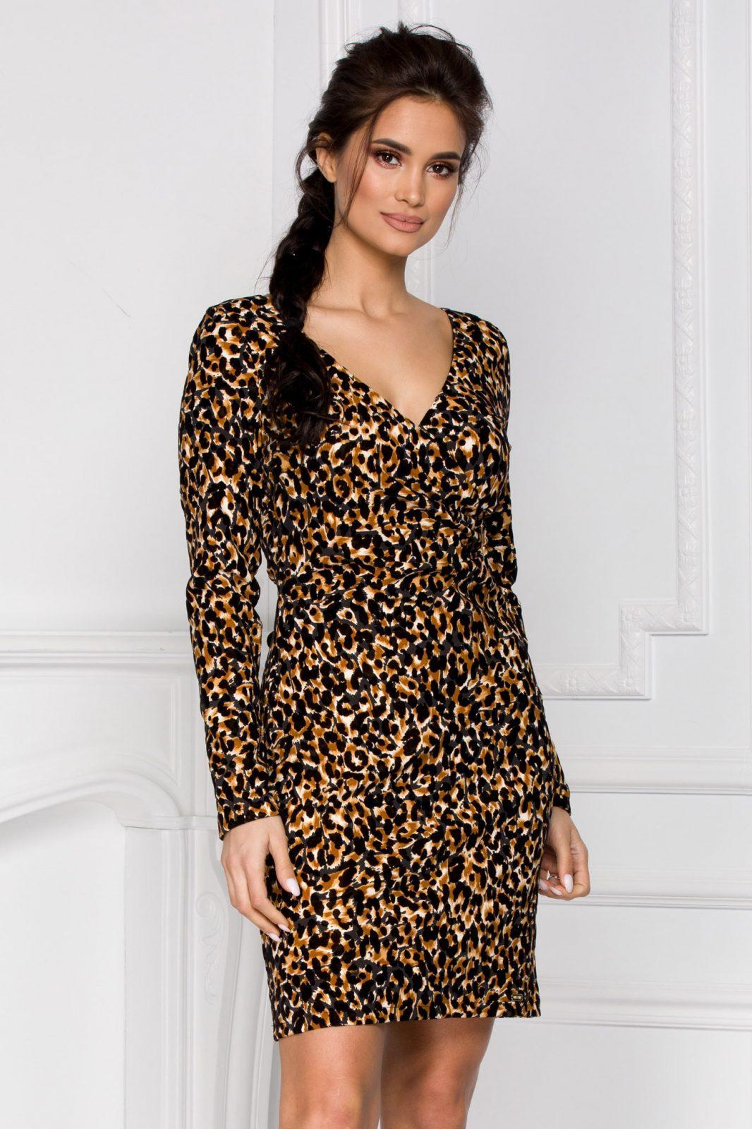 Nisa Animal Print Dress