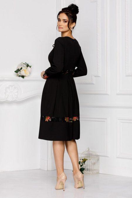 Moze Petra Μαύρο Φόρεμα 7026