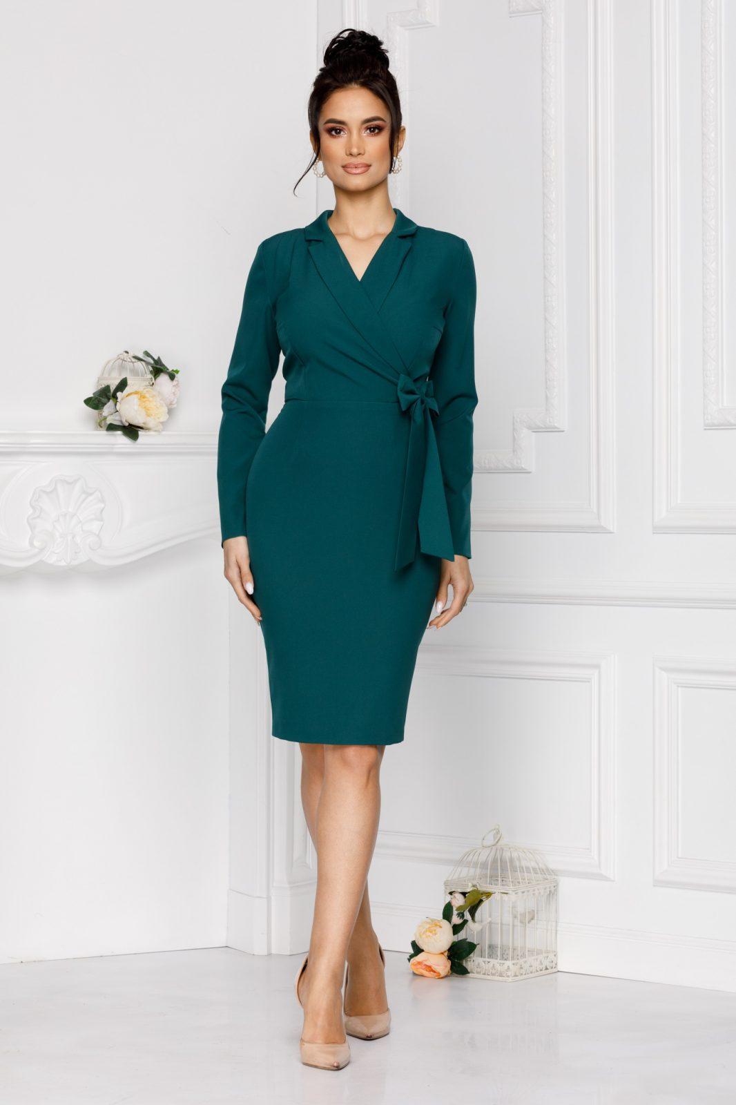 Πράσινο Φόρεμα Moze Sheyla 7042