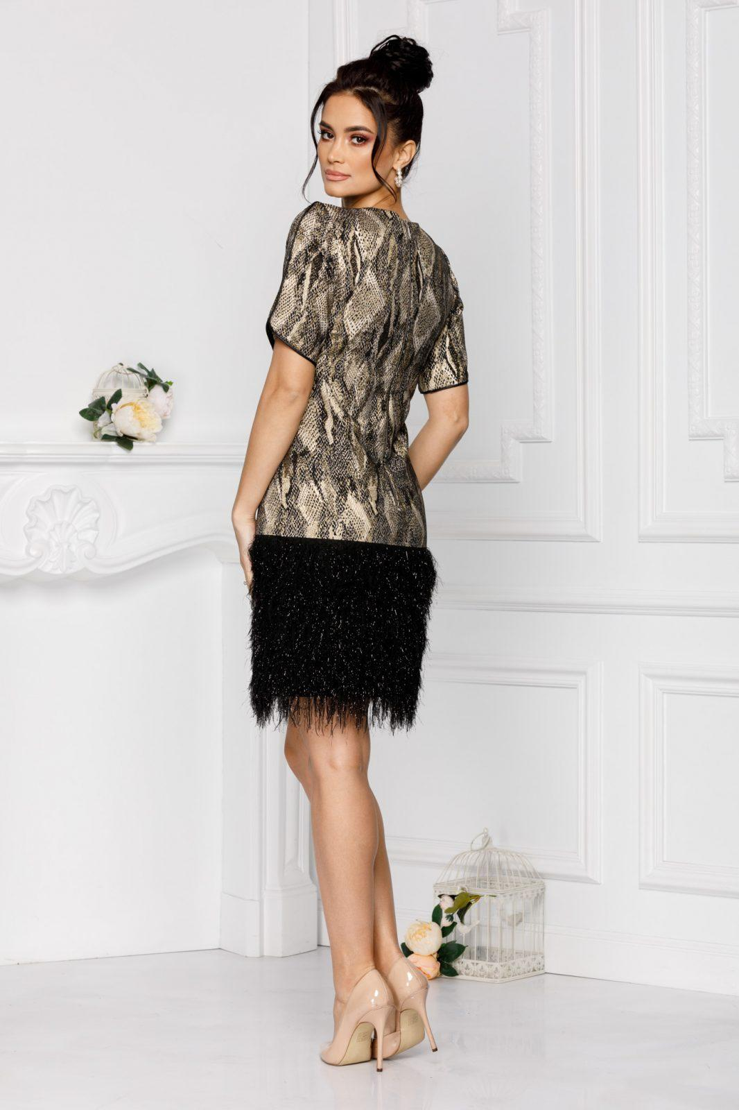 Dya Μαύρο Φόρεμα 7006