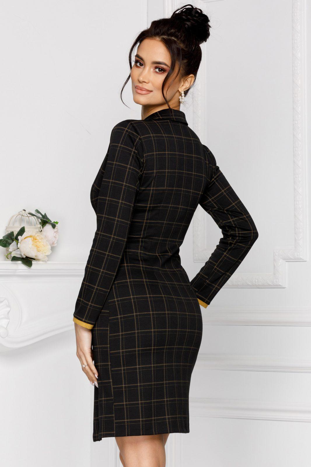 Καρό Φόρεμα Moze Ivette 7033