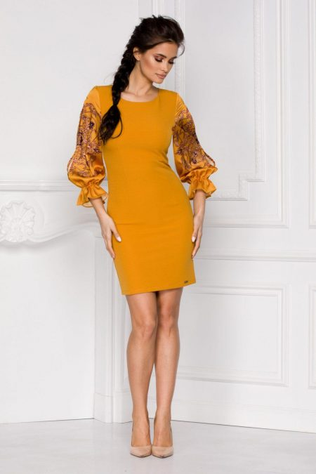 Claudine Yellow Dress