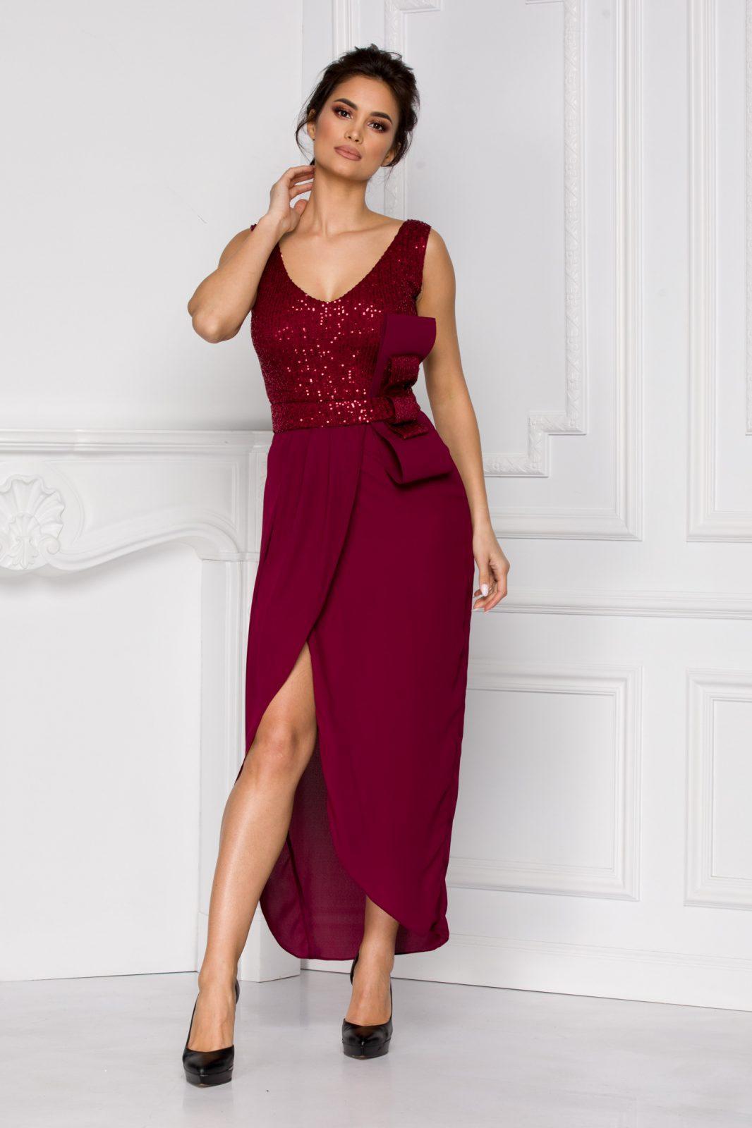 Iasmin Βιολετί Φόρεμα 5213
