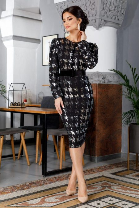 Attraction Silver Dress