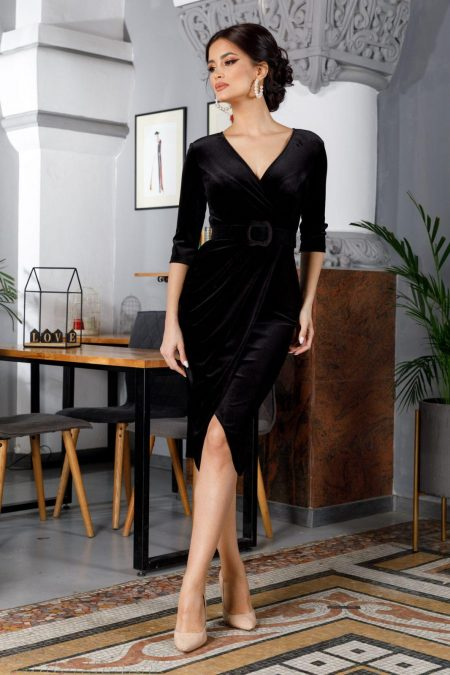 Raissa Black Dress