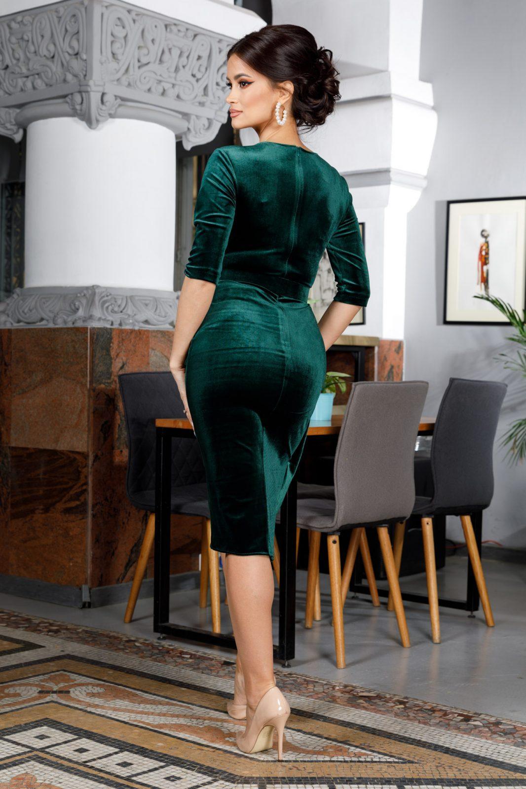Raissa Midi Πράσινο Φόρεμα 5970