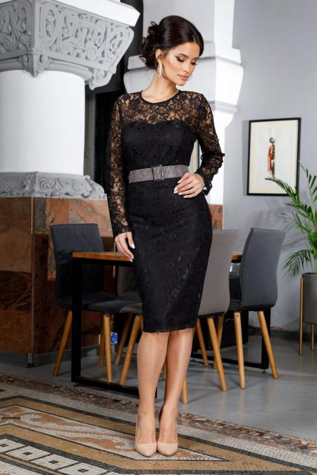 Lorra Black Dress