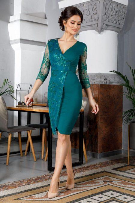 Verona Green Dress