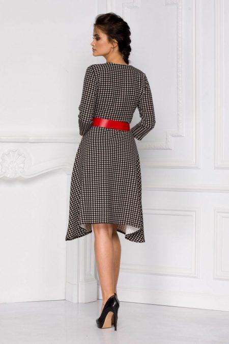 Albertina Μαύρο Φόρεμα 6039