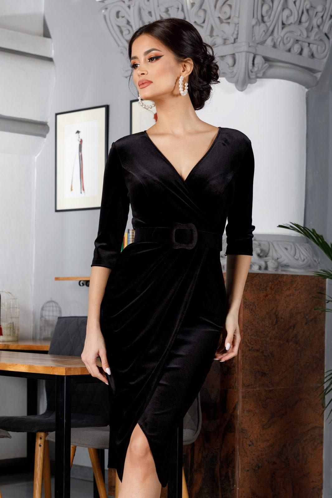 Raissa Black Dress