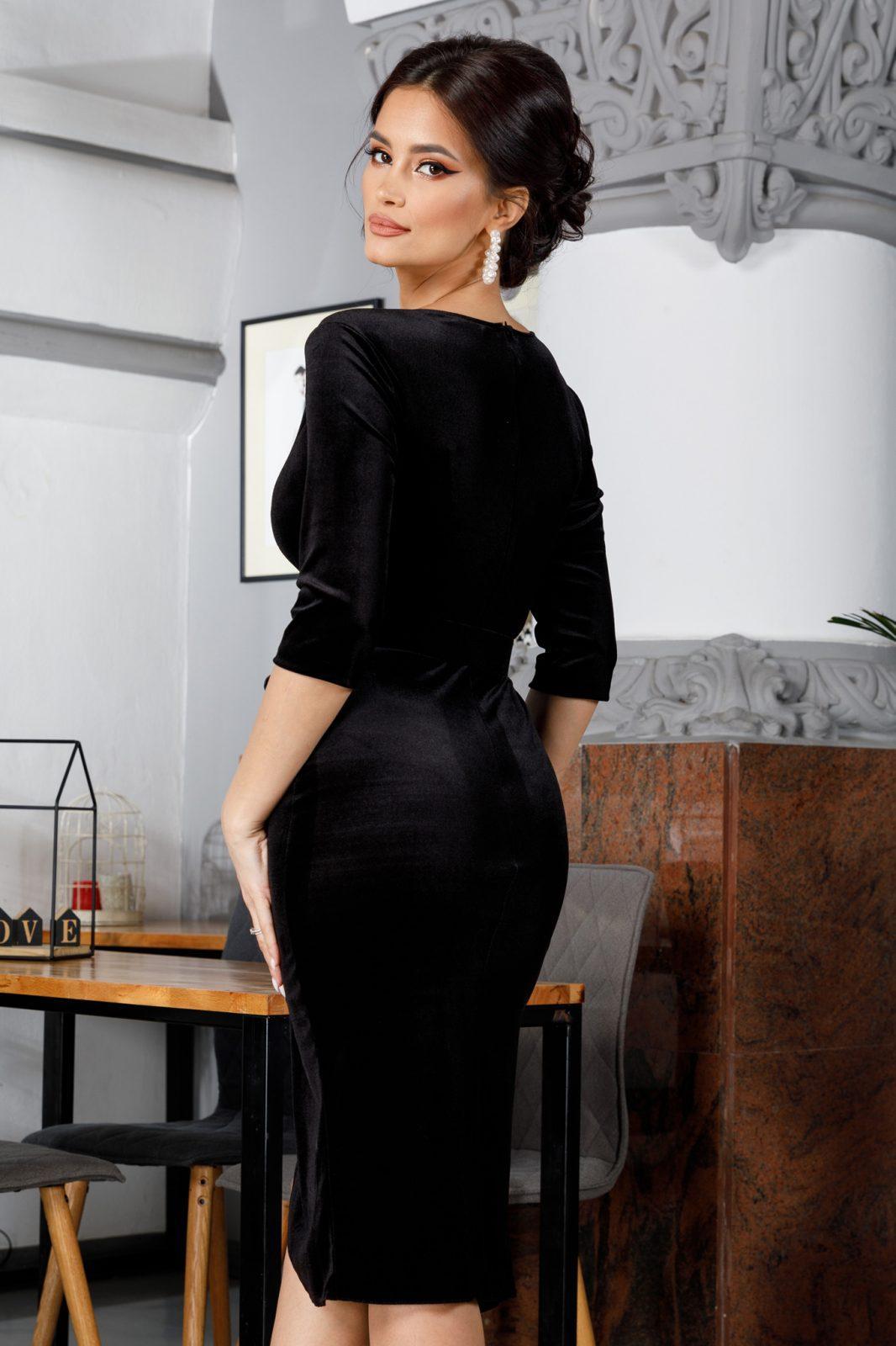 Raissa Midi Μαύρο Φόρεμα 5971