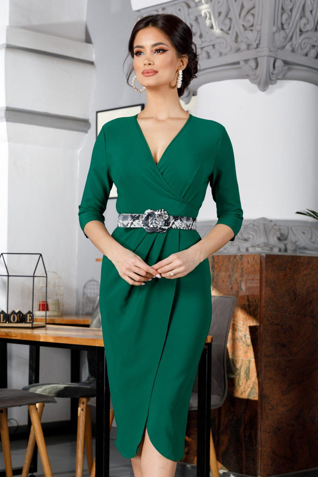 Glorya Green Dress