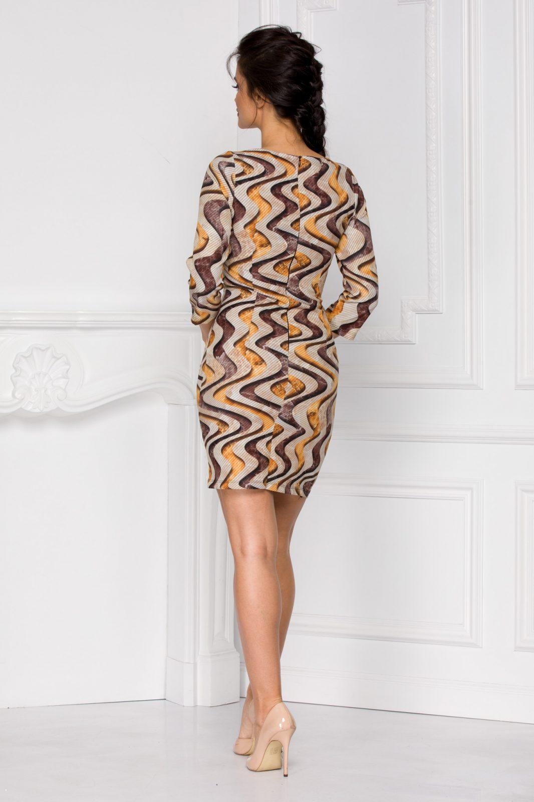 Φόρεμα Με Μανίκι 3/4 Vanda 6012 3