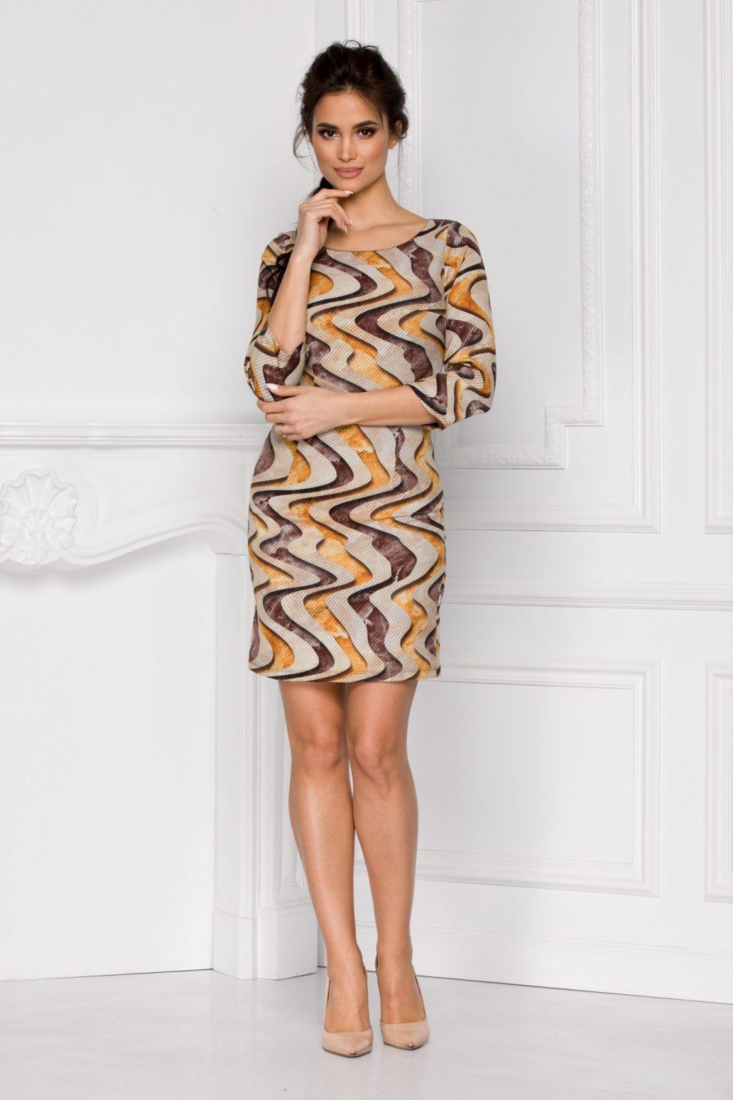 Φόρεμα Με Μανίκι 3/4 Vanda 6012 4
