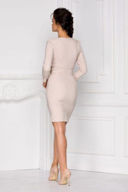 Talyse Μπεζ Φόρεμα 6015