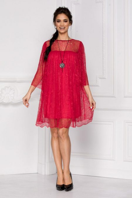 Celia Red Dress