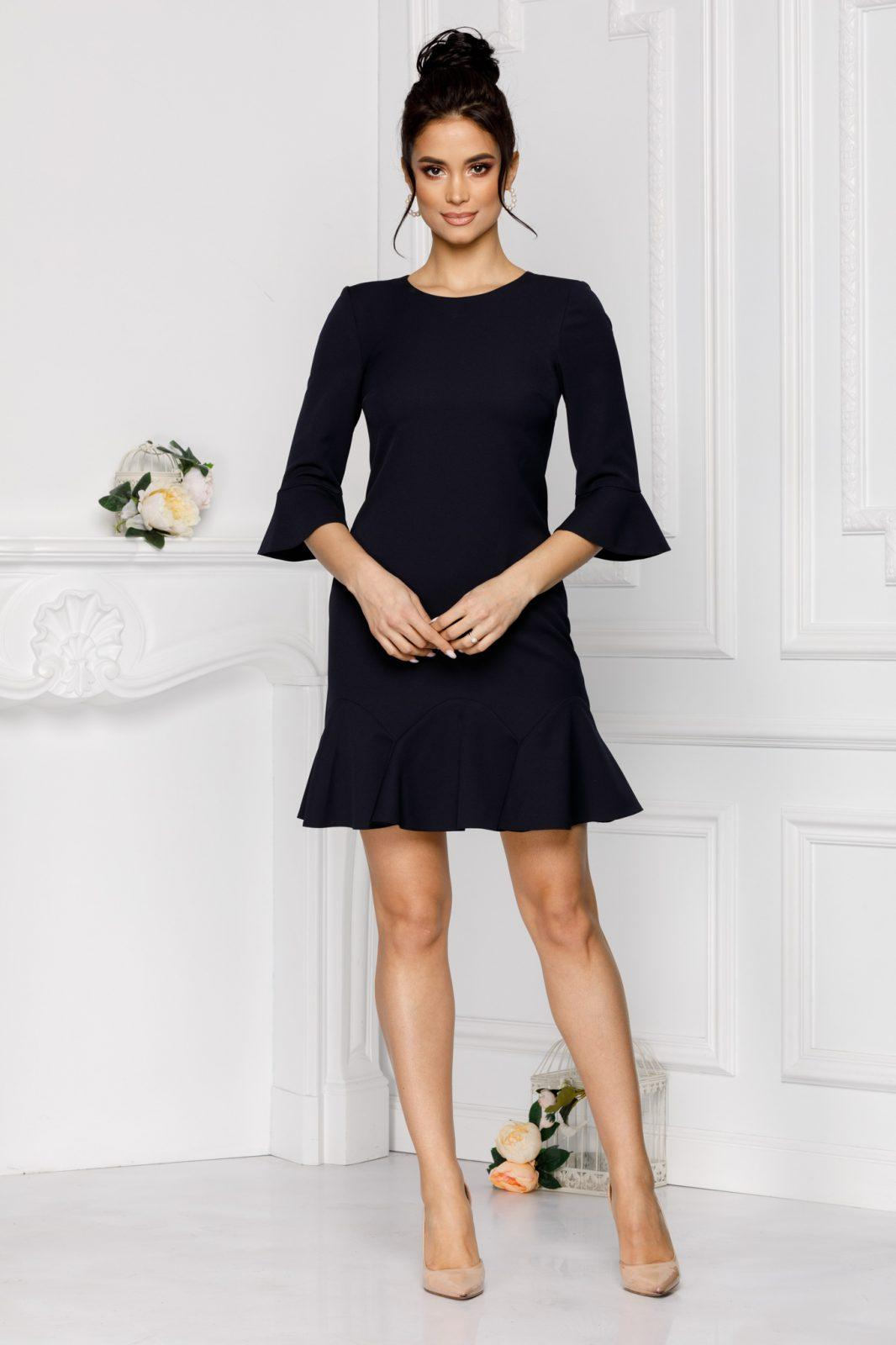 Ginette Navy Blue Dress