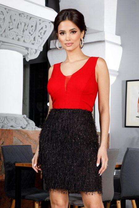 Devon Bicolore Dress