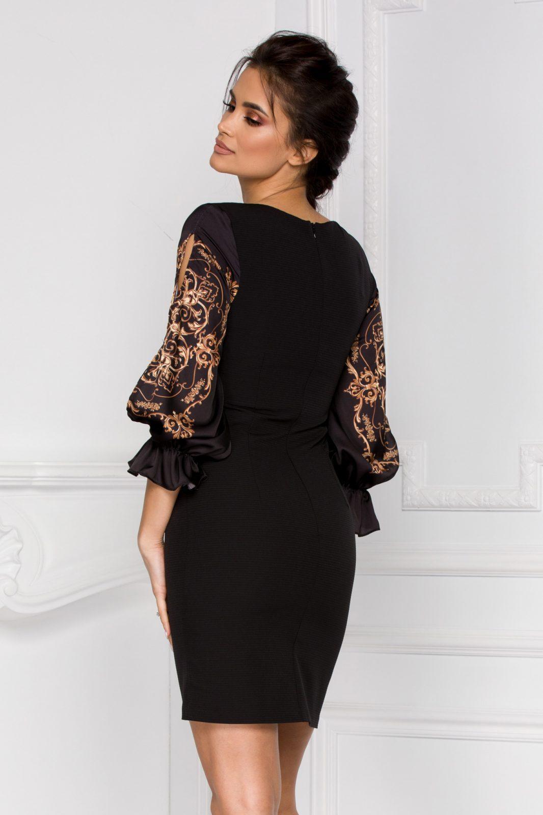 Claudine Μαύρο Φόρεμα 5936