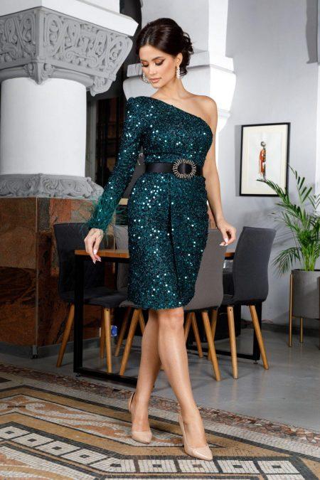 Karolyne Green Dress