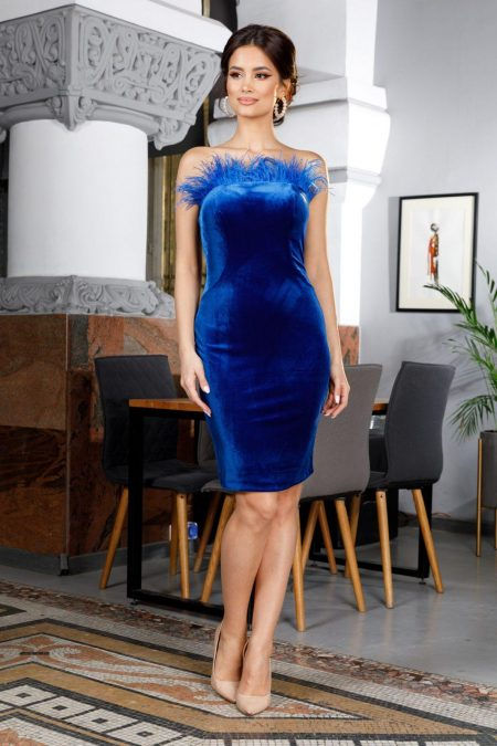 Adorable Royal Blue Dress
