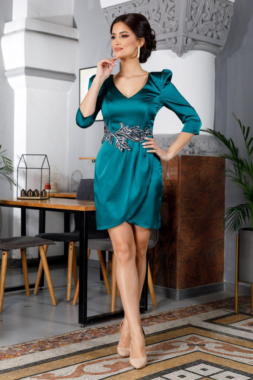 Carina Green Dress