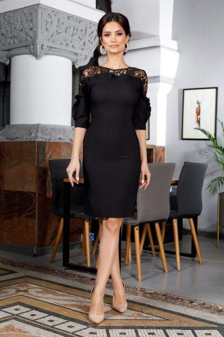 Adore Black Dress