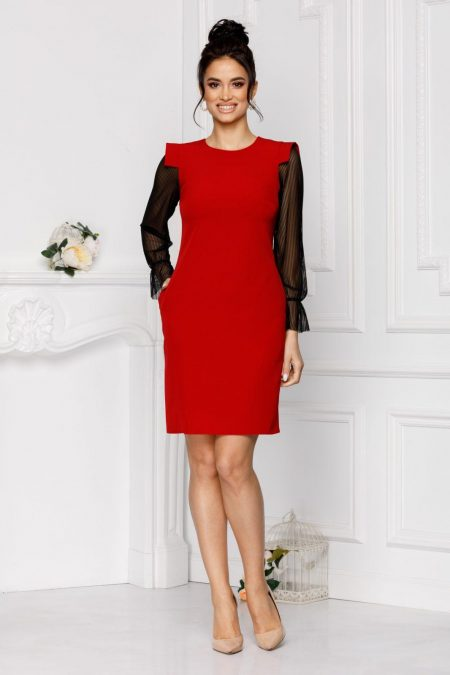 Moze Patty Red Dress