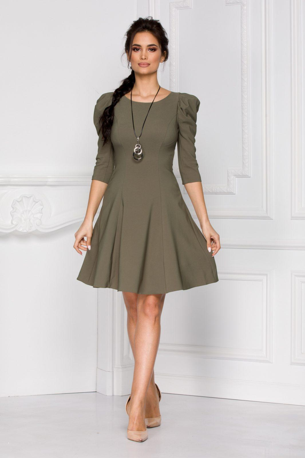 Maya Χακί Φόρεμα 5407