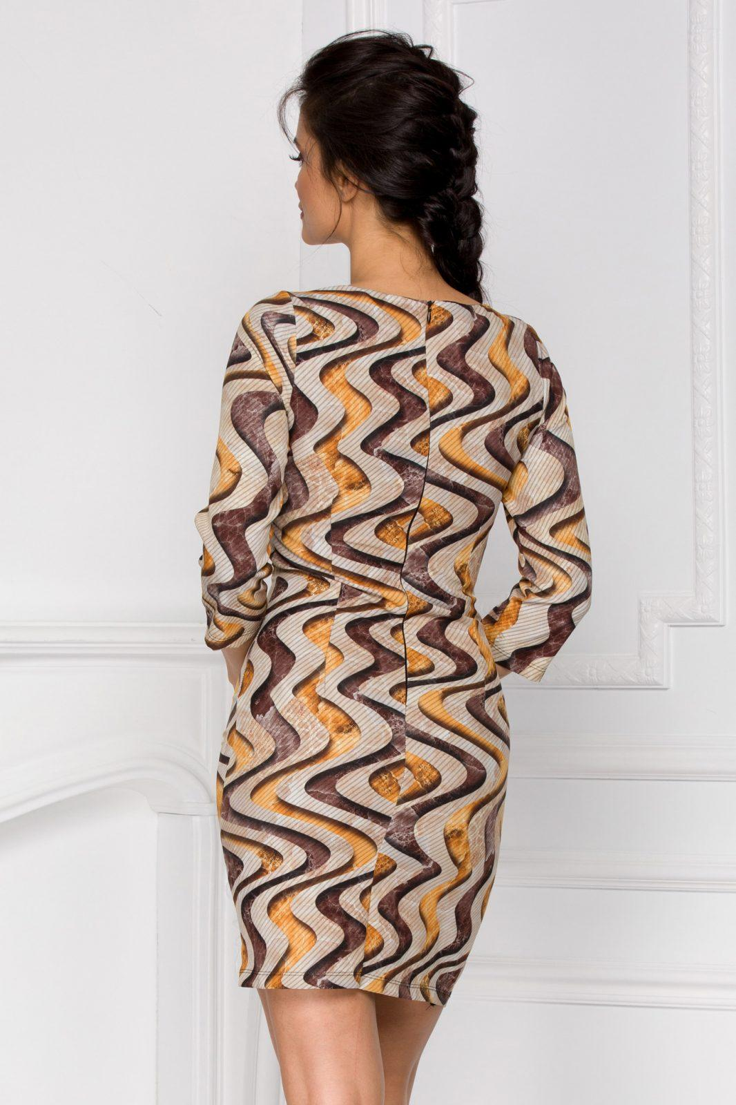 Φόρεμα Με Μανίκι 3/4 Vanda 6012 5