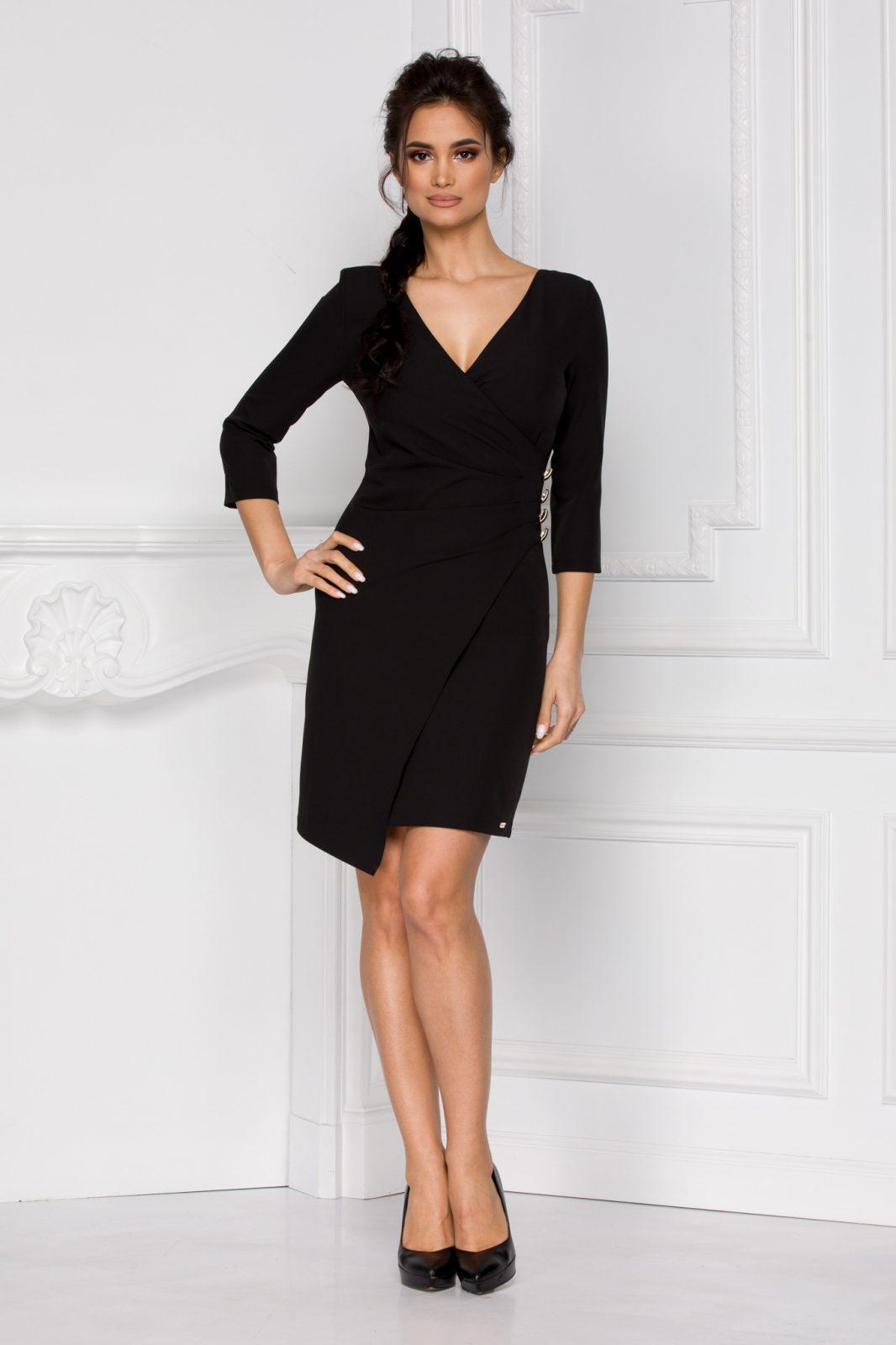 Tianna Μαύρο Φόρεμα 5940