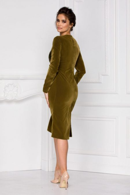 Mara Midi Πράσινο Φόρεμα 5959