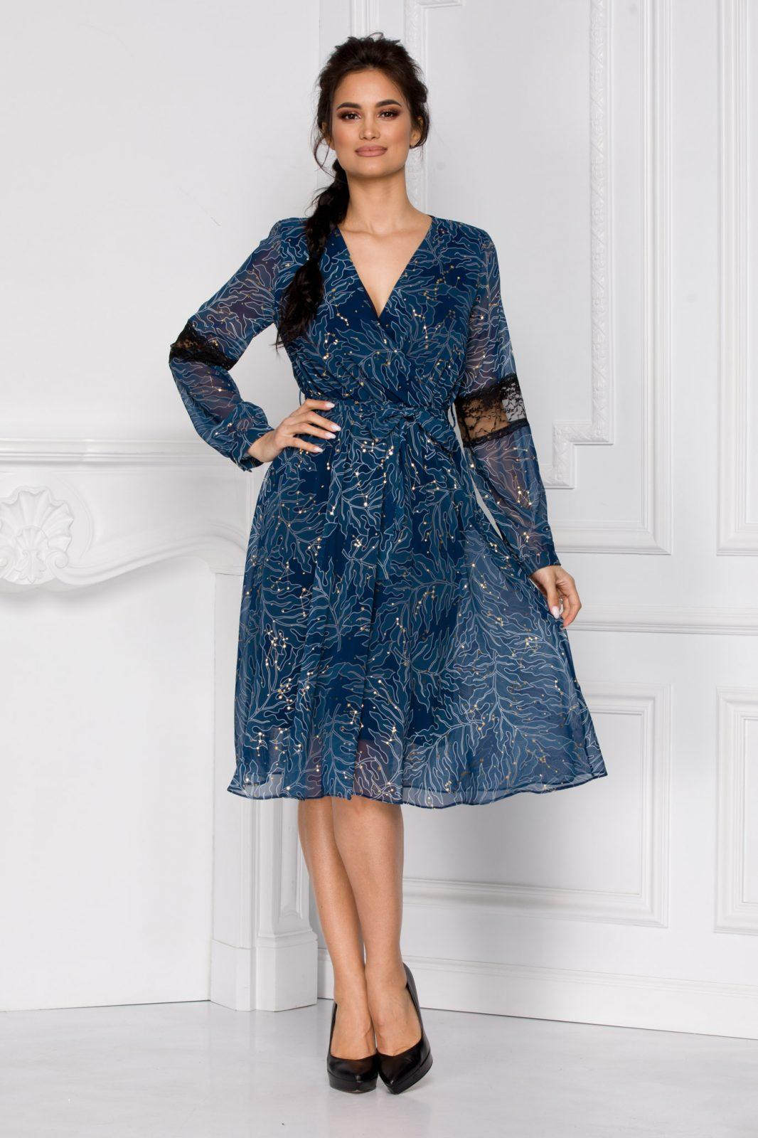 Grace Μπλε Φόρεμα 5932