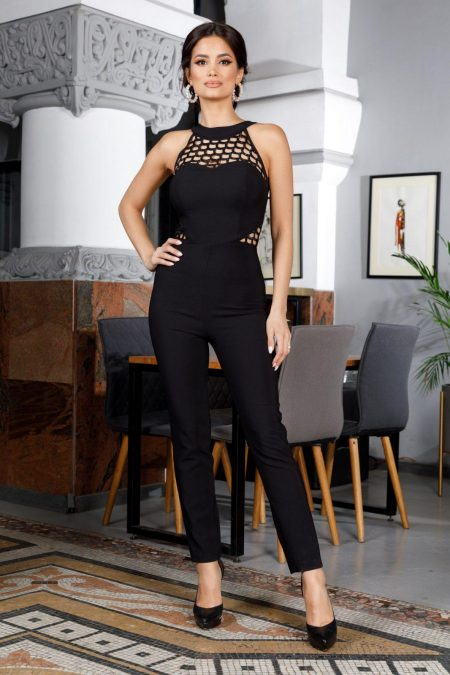 Aimee Black Jumpsuit