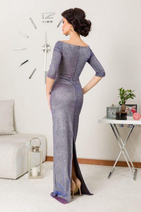 Natalie Maxi Ασήμι Φόρεμα 7215