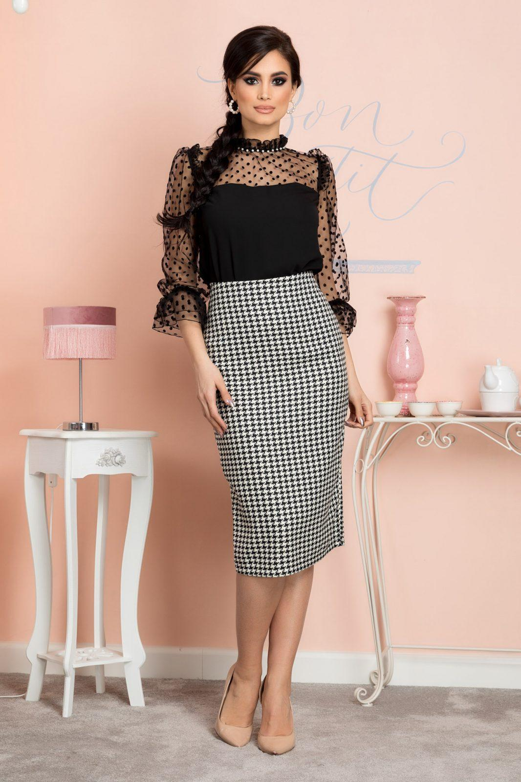 Elina Bicolored Skirt