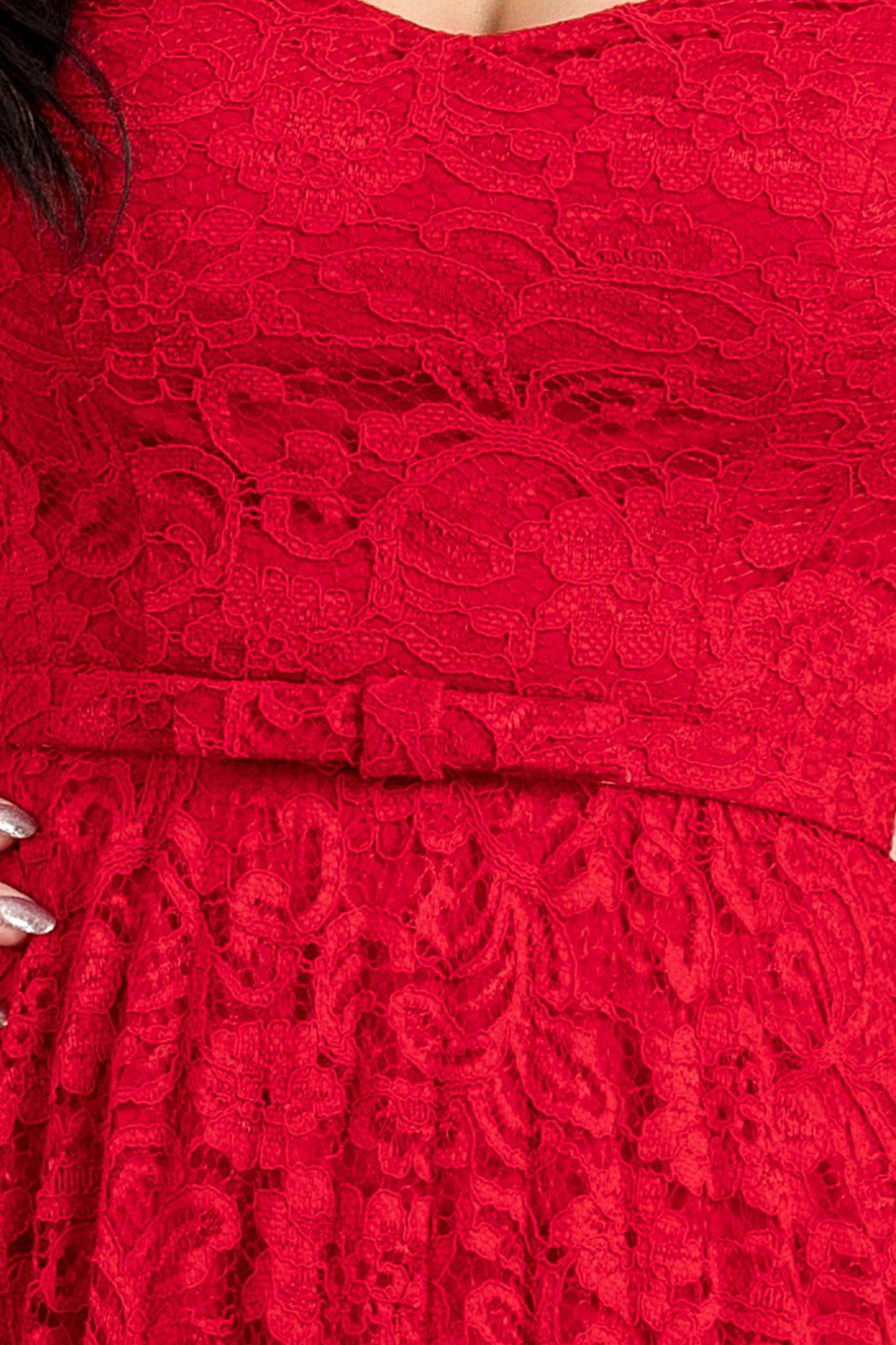 Thara Midi Κόκκινο Φόρεμα 7117
