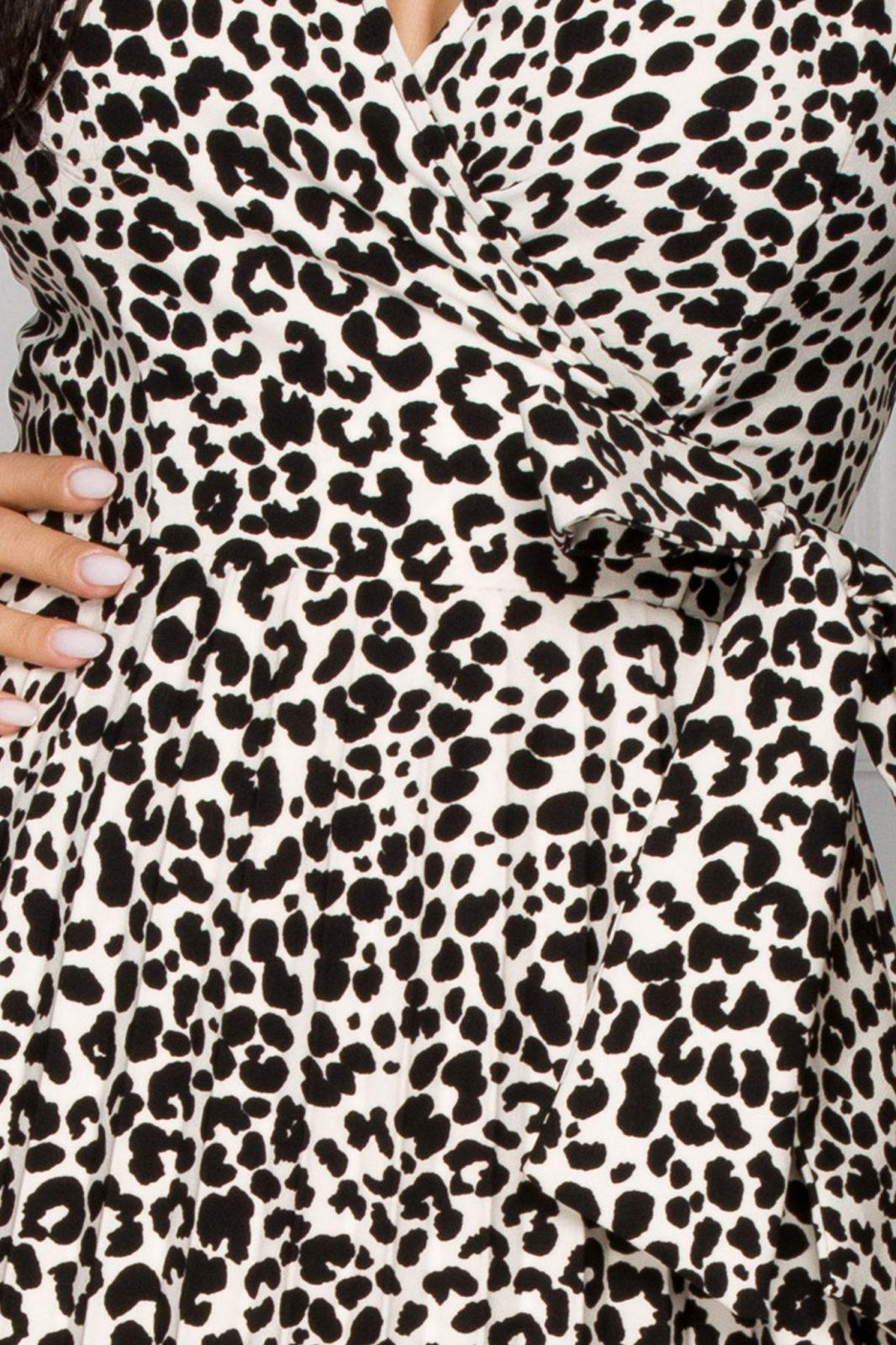 Floreal Animal Καθημερινό Φόρεμα 5924