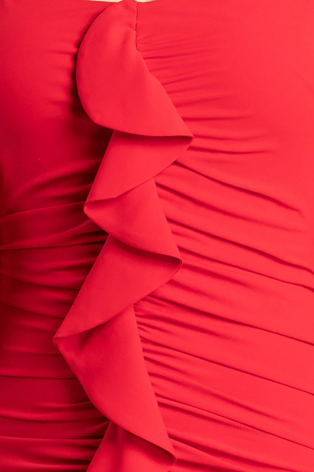 Ximena Mini Κόκκινο Φόρεμα 7118