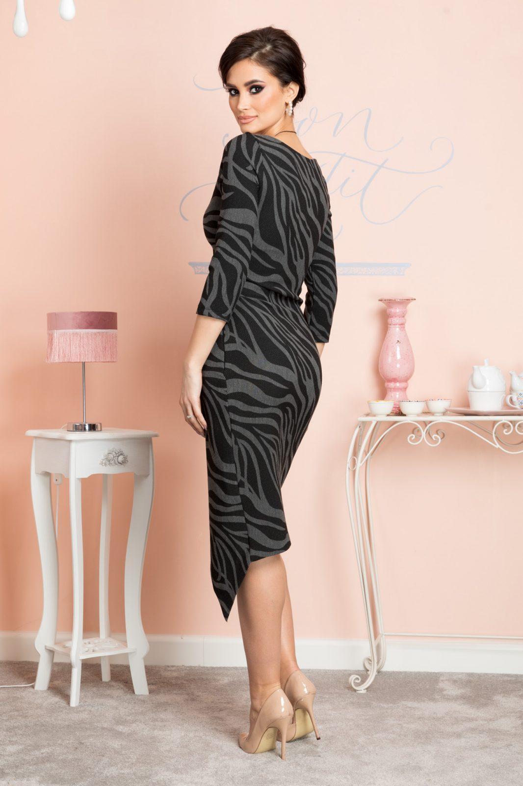 Μαύρο Φόρεμα Bridget 7153 3