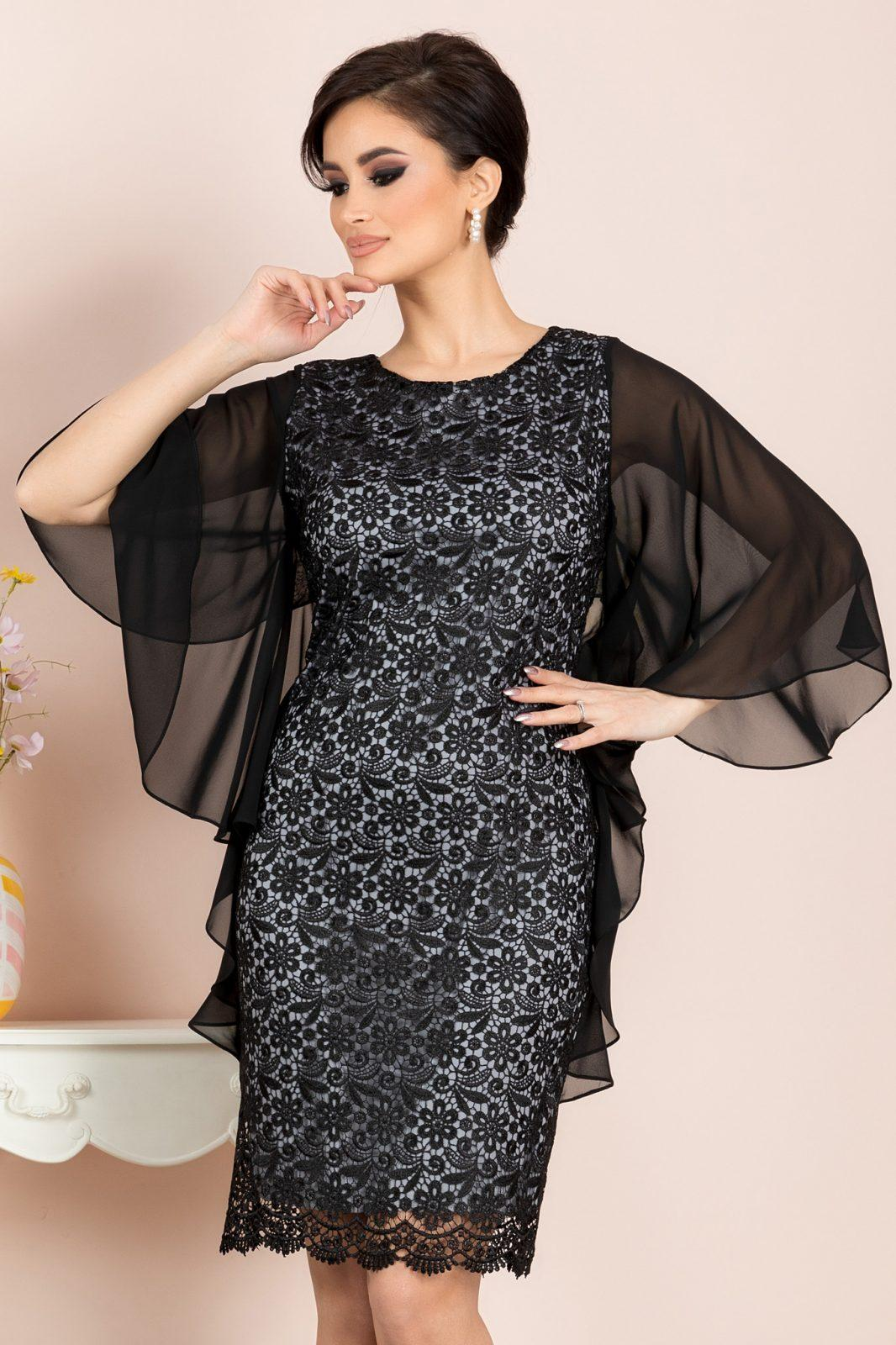 Amira Black Dress