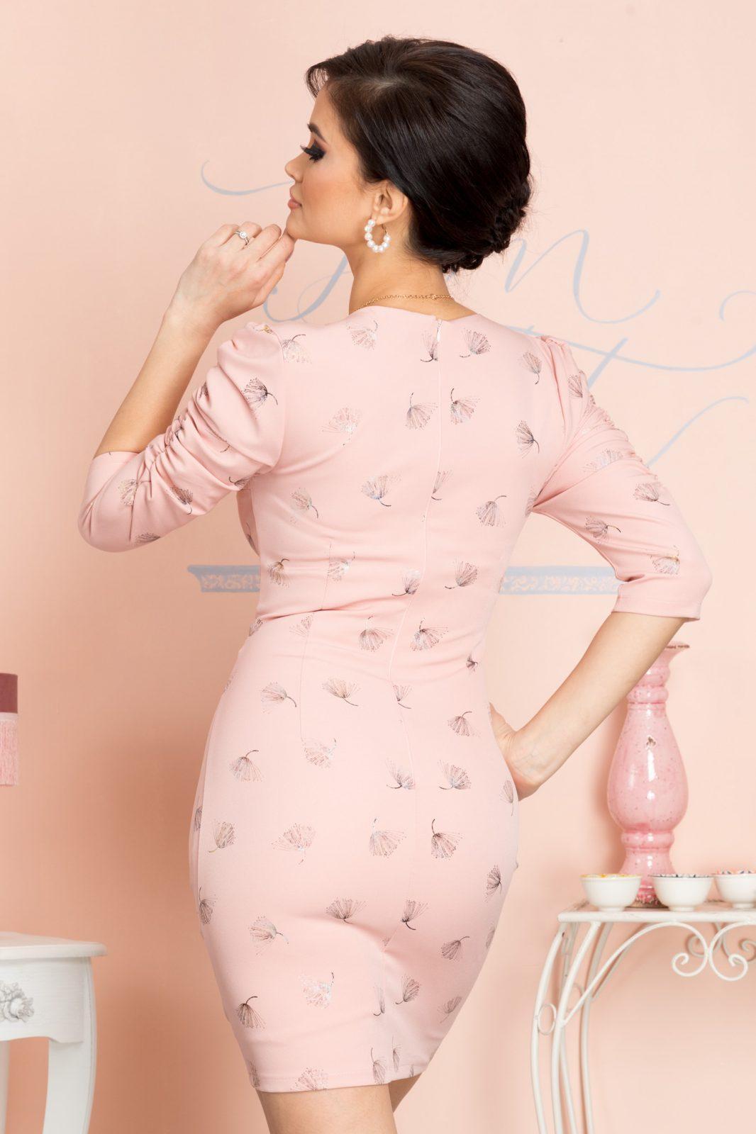 Dulce Ροζ Φόρεμα 7073