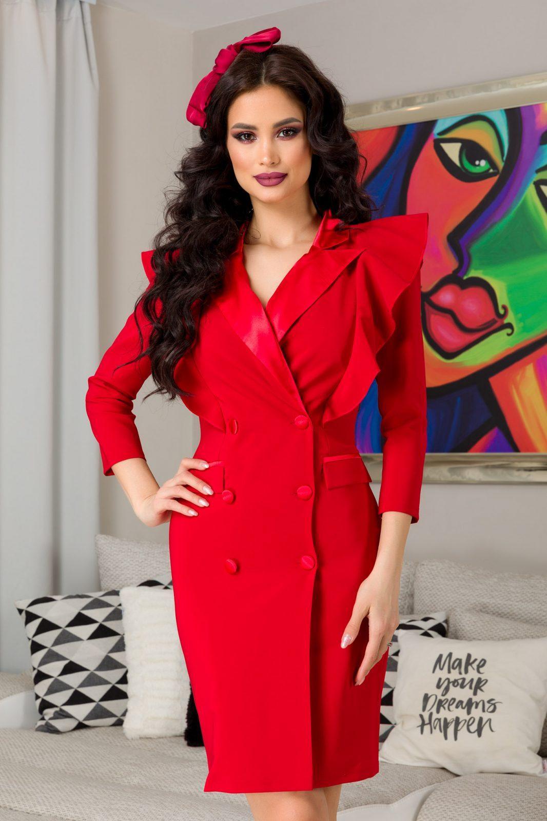 Sasha Red Dress