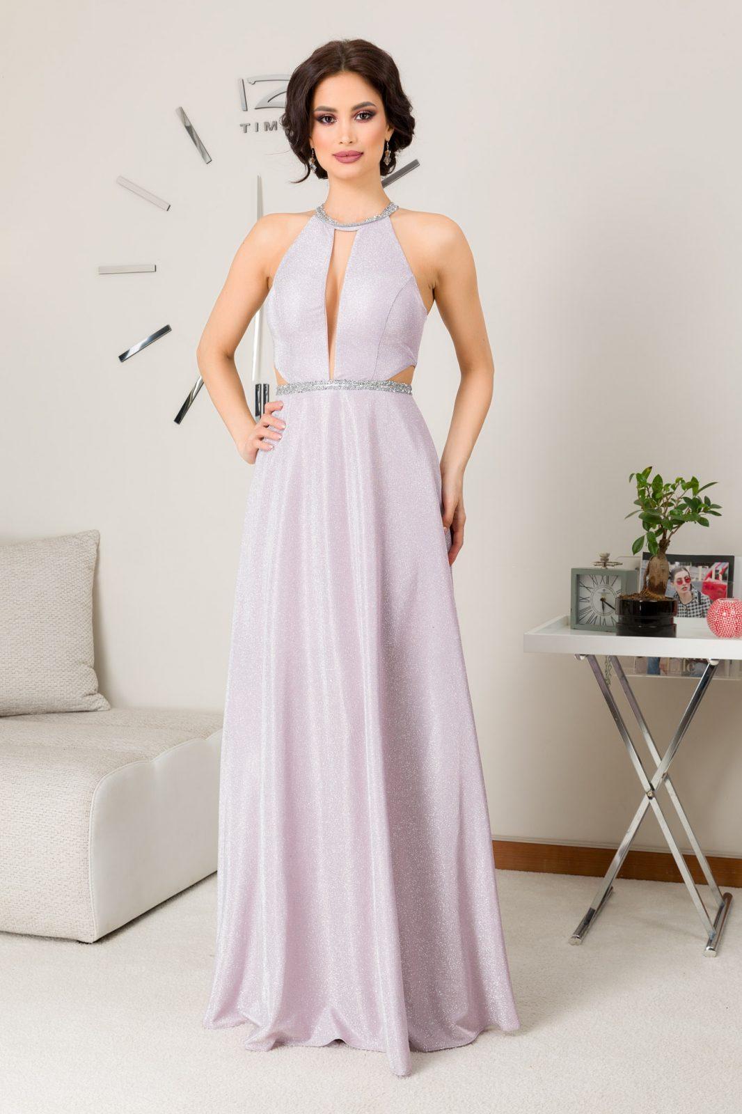 Belinda Maxi Ροζ Φόρεμα 7263