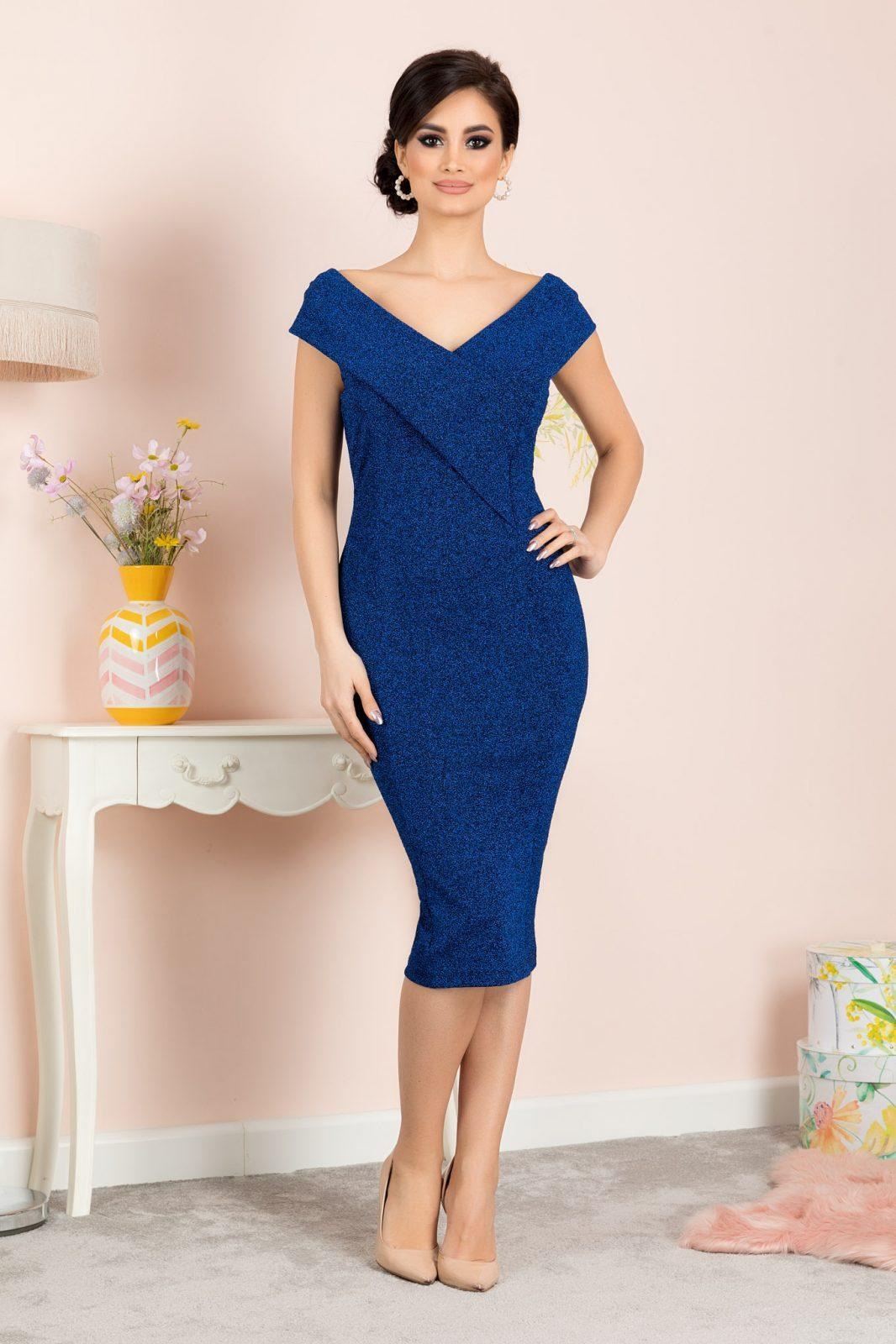 Penelope Royal Blue Dress