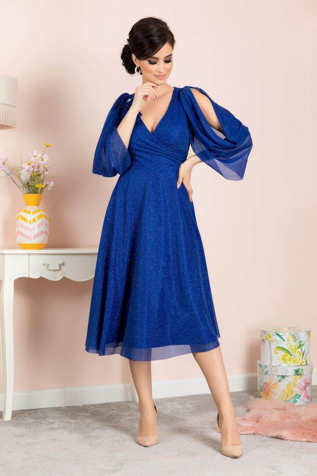 Μπλε Φόρεμα Rosario 7131 2