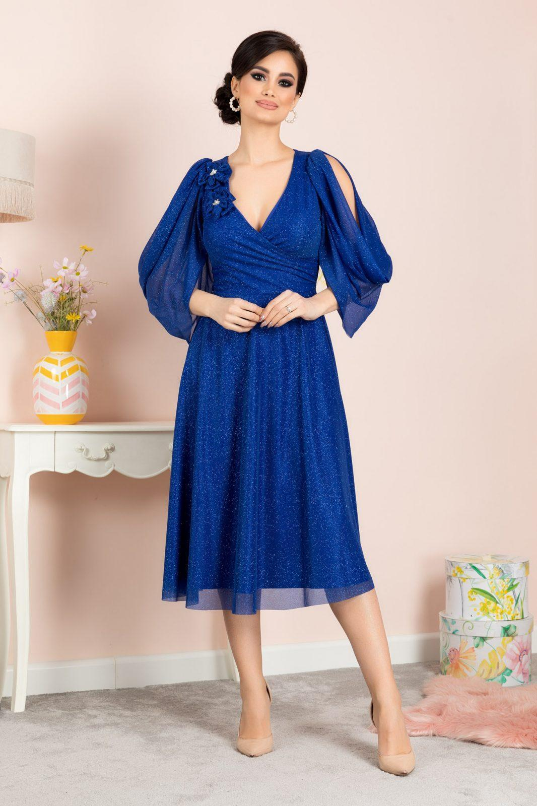 Rosario Royal Blue Dress